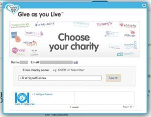 Give as you live screenshot 2