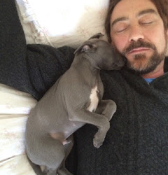 Nathaniel Parker with Lottie